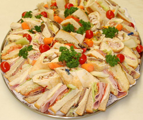 sandwich platter_appetizers_Mr Goudas recipes