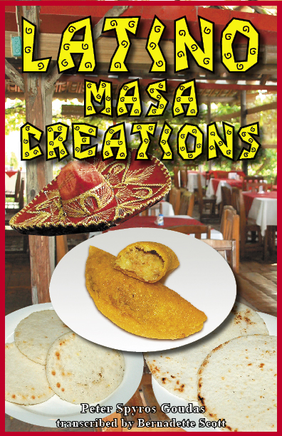LATINO MASA CREATIONS BOOK- GOUDAS BOOKS