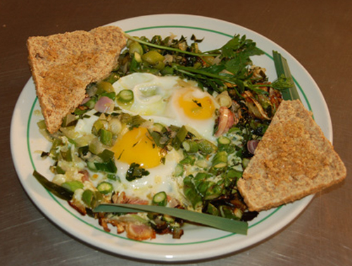 MR GOUDAS recipes_Eggs Sunshine Up