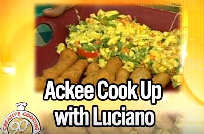 Ackee Cookup with Luciano - Grace Foods Creative Cooking