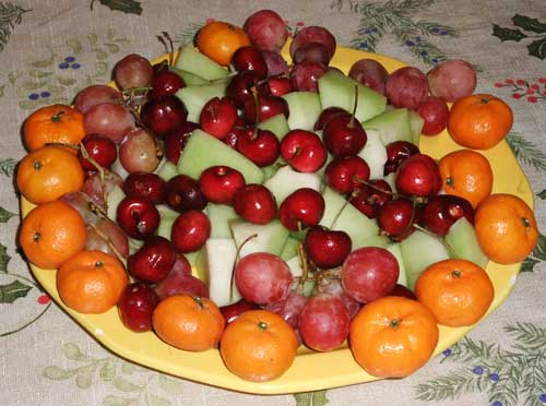 Fruit Platter_ Appetizers_Mr Goudas Recipes