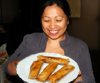 Sarah Dragon Turon Filipino Sweet Treat