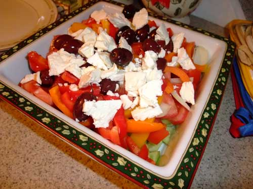 OLIVES WITH FETA CHEESE-MR. GOUDAS RECIPES