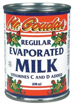 Mr.Goudas Regular Evaporated milk