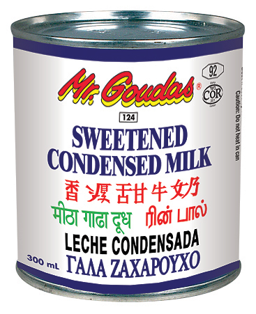 MR GOUDAS SWEETENED CONDENSED MILK