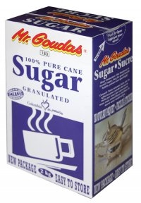 Mr.Goudas 100% Pure cane Sugar