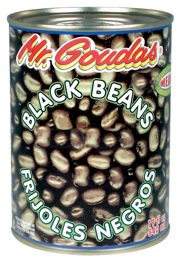 Mr Goudas Black Beans Canned_Goudas recipes_Black Beans