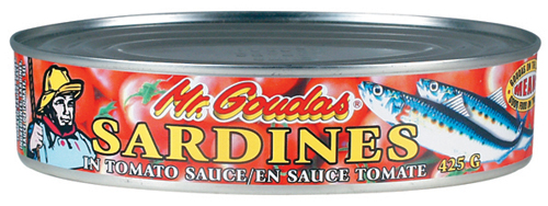 Mr Goudas Sardines in Tomato Sauce - Goudas Recipes