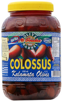 Mr. Goudas Recipes - Kalamata Olives Colossus 1.5 L