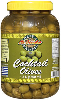 MR GOUDAS COCKTAIL OLIVES-GOUDAS RECIPES