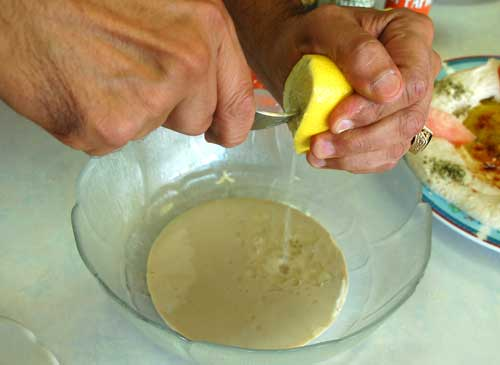 Lemon Juice_Hommos_Hummus_ Hab_Mr Goudas Recipes_Mr Goudas