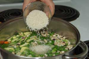 italian rice_vegetables_ vegetable soup with egg and lemon_ Mr Goudas Recipes